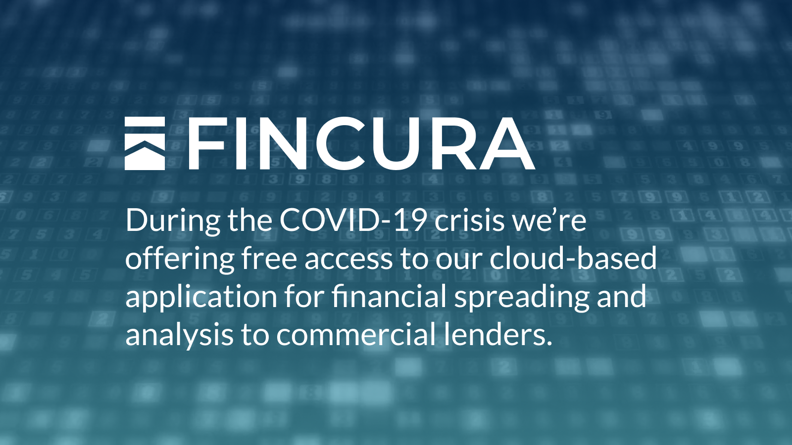 Fincura is free during this crisis